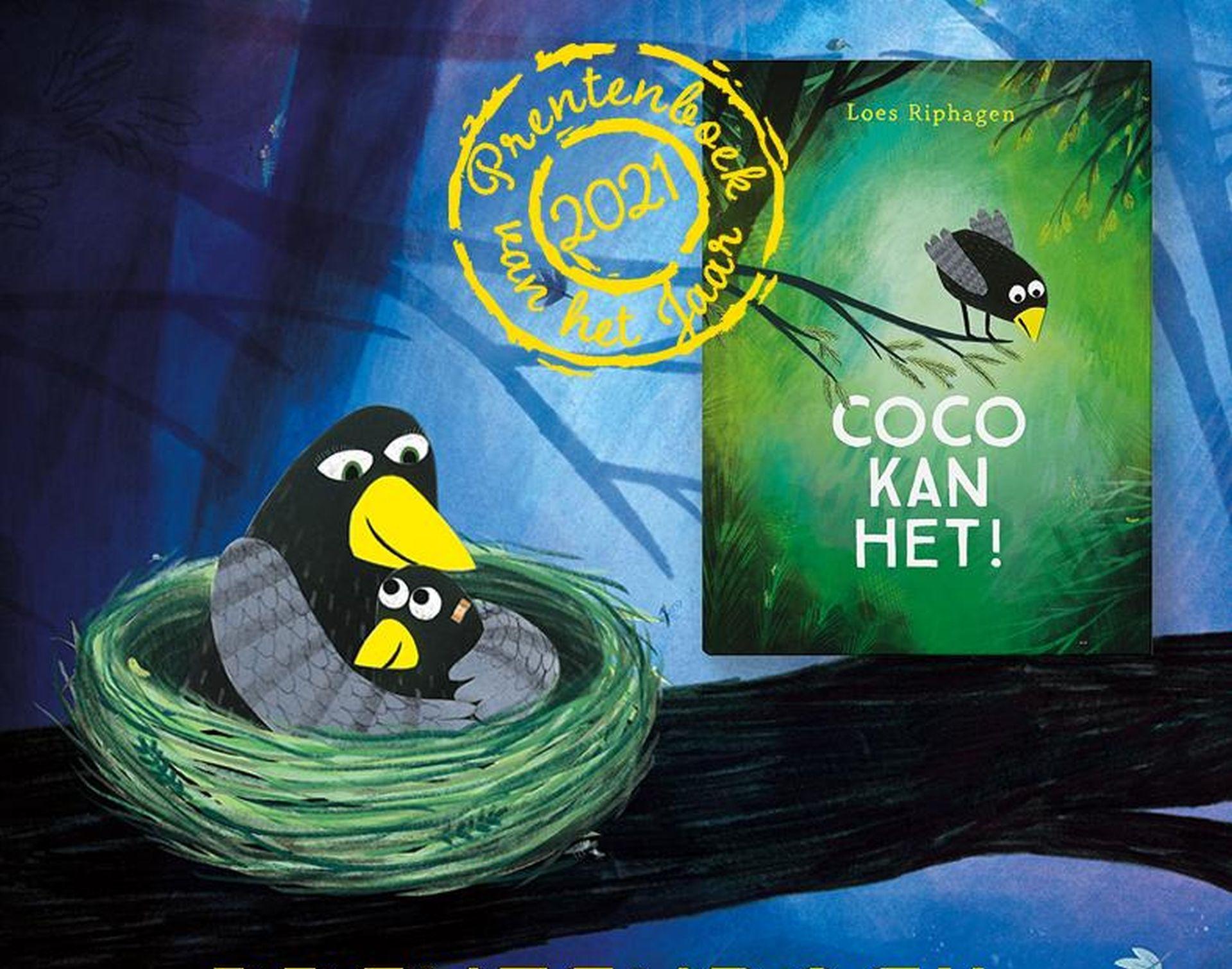 Prentenboek van het jaar 2021 is Coco kan het, van Loes Riphagen.