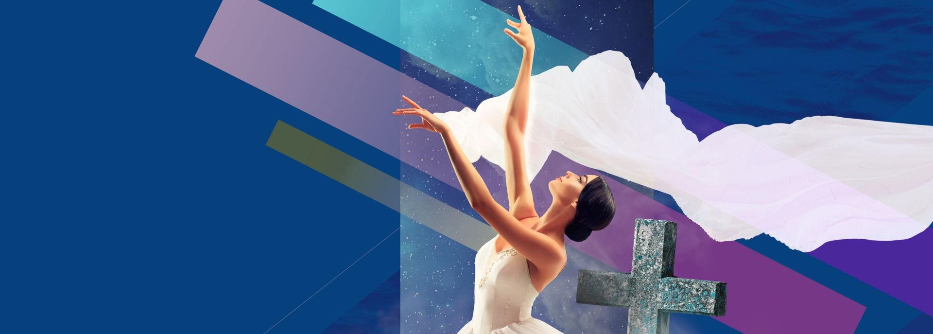 Dit romantische ballet wordt door het Charkov City Opera & Ballet op vernieuwde wijze uitgevoerd, live met groot orkest. Giselle neemt haar leven als ze beseft dat haar geliefde haar bedrogen heeft. 's Nachts regeren de Wili's over het kerkhof.