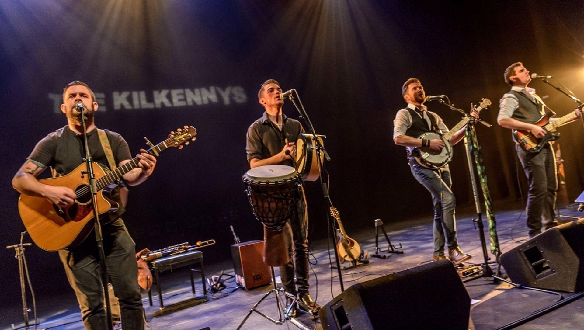 Irish folk muziek van de Ierse band The Kilkenny's