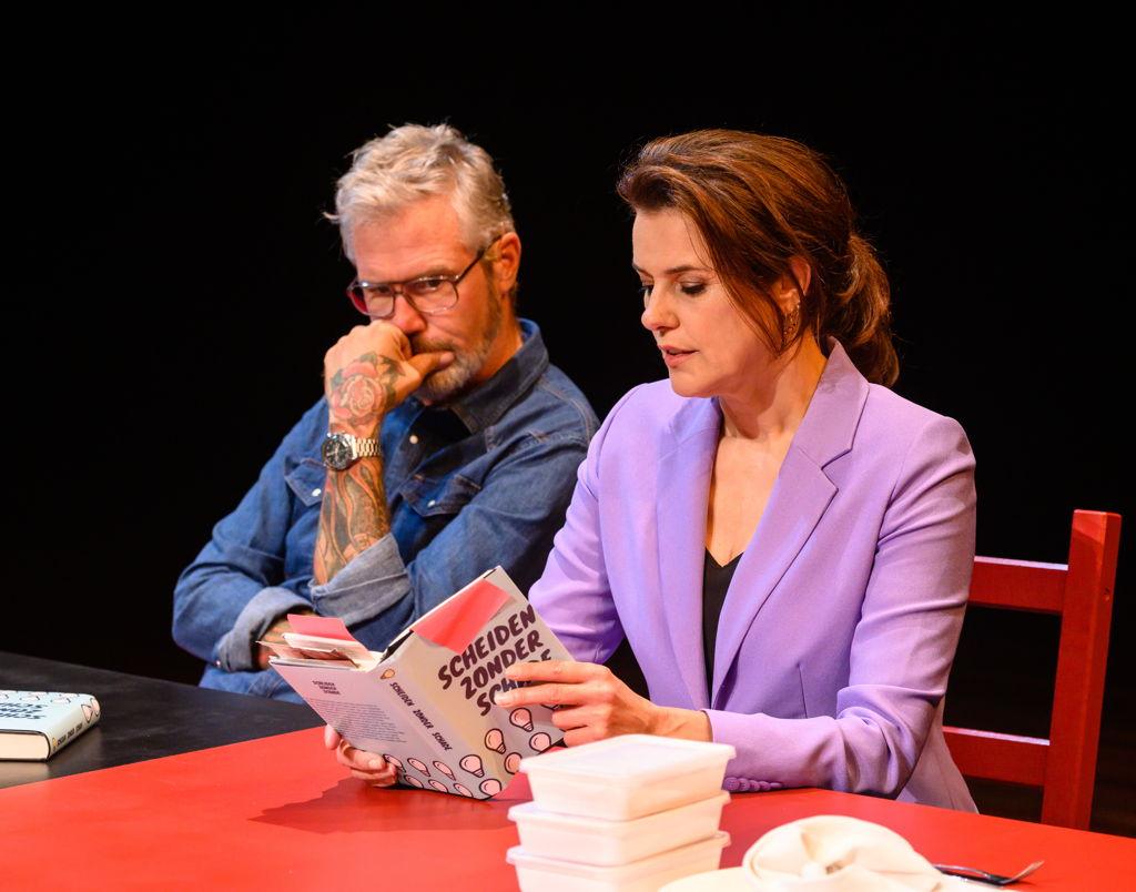 Eric Corton en Susan Visser spelen een echtpaar dat gaat scheiden. Hoe vertel je dat aan je zoon?