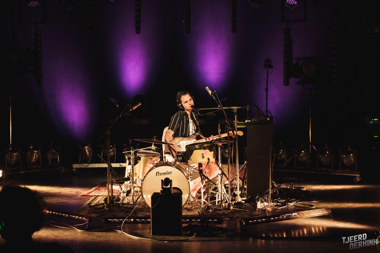 Jett Rebel speelde 9 december tijdens Locked & Live, foto's door Tjeerd Derkink