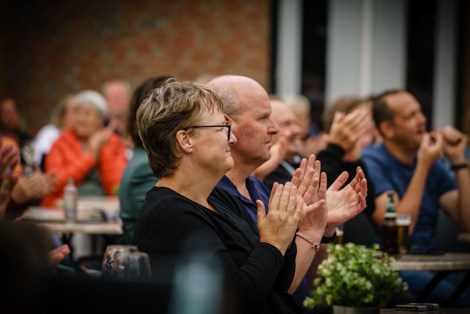 The Kik gaf twee tuinconcerten op 16 juli 2021, foto's door Photo Anya
