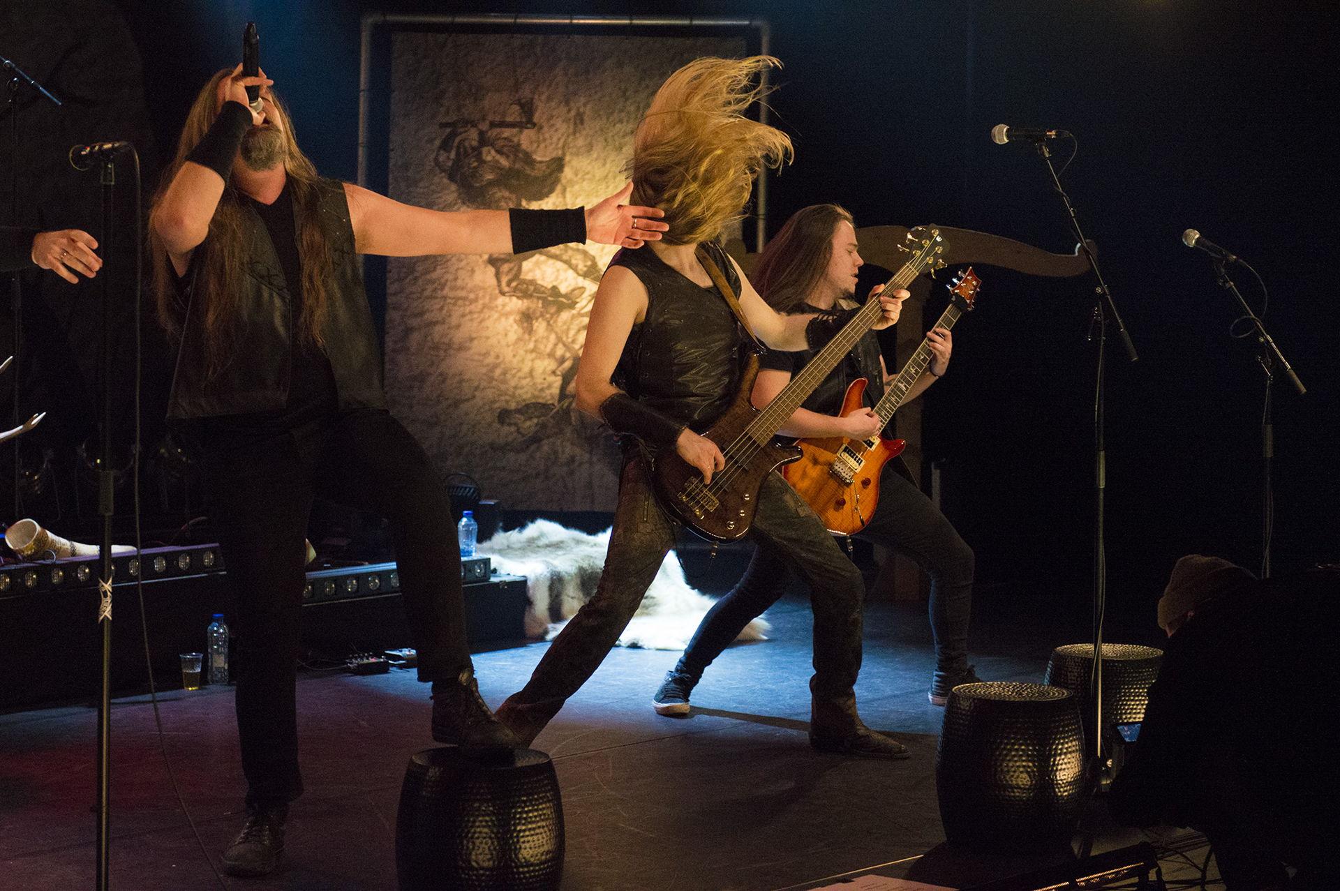 Heidevolk speelde op Locked & Live in Theater De Tamboer.