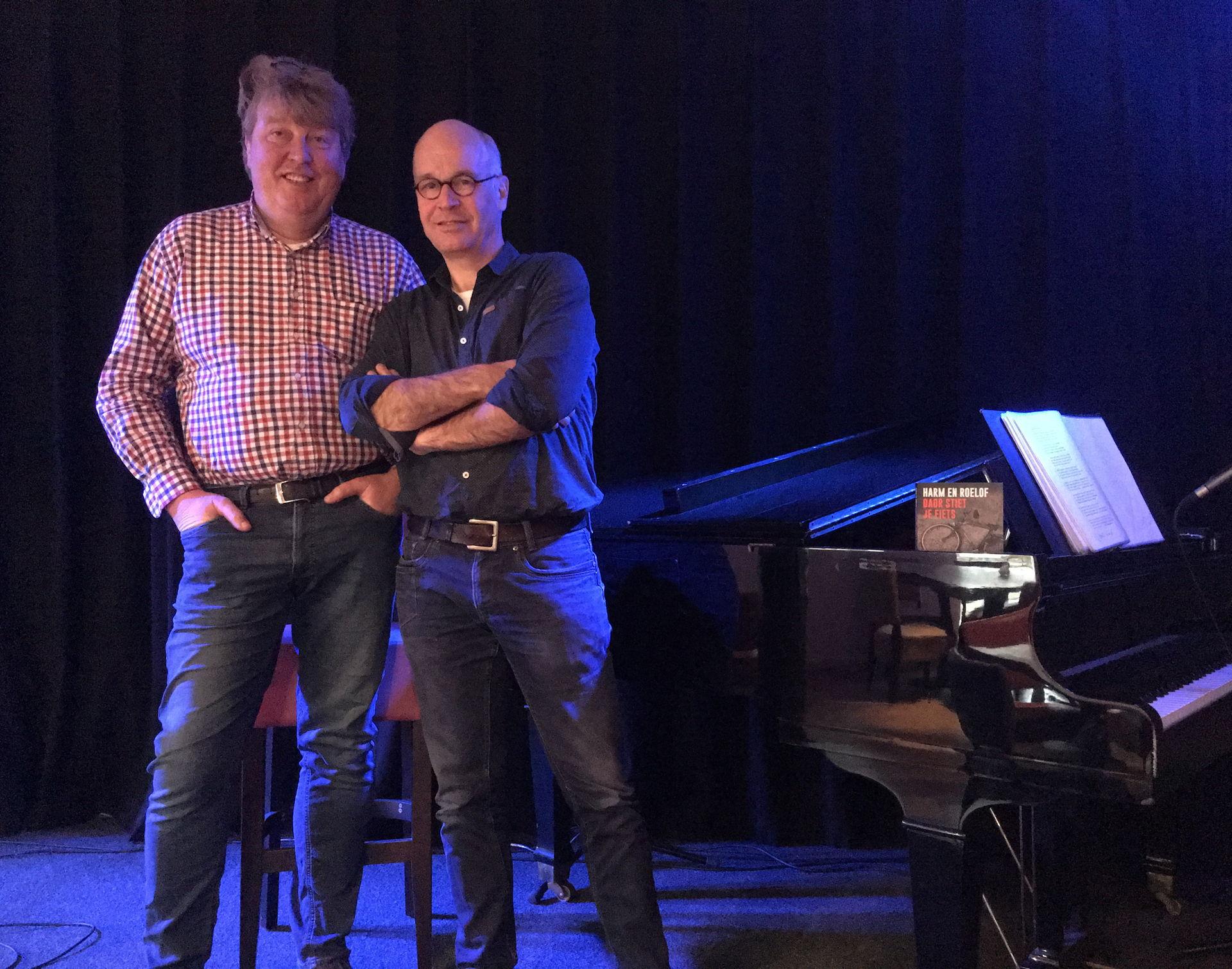 Harm en Roelof speelden in 2019 Nagelholt en zoepenbrei
