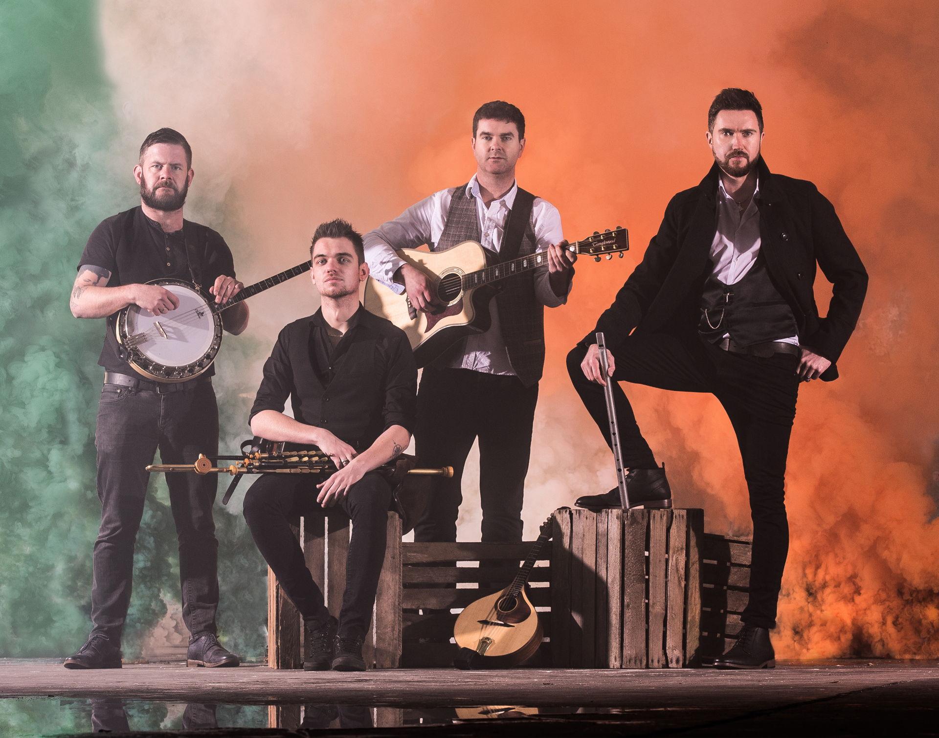 The Kilkenny's spelen regelmatig in Hoogeveen en zijn een graag geziene act op het Irish Folk Festival.