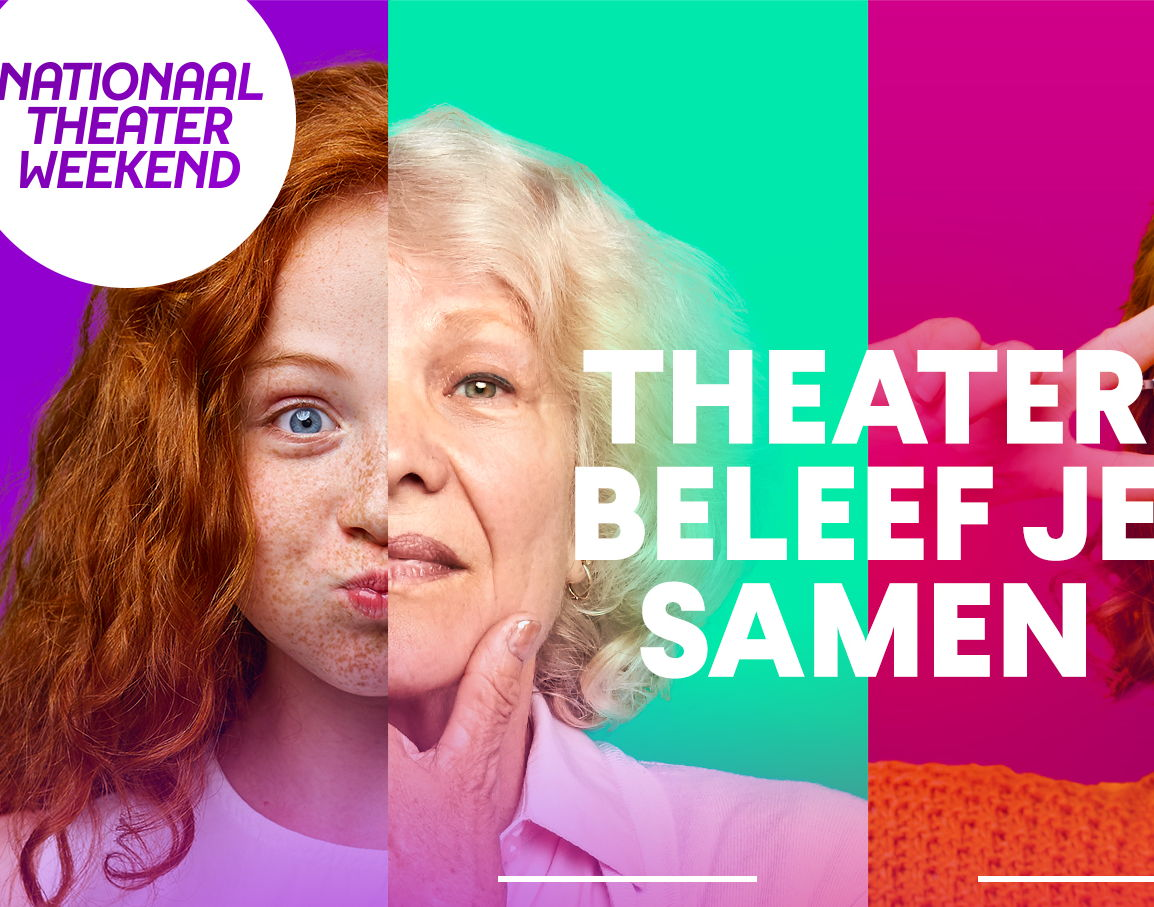 Nationaal Theaterweekend in 2020.