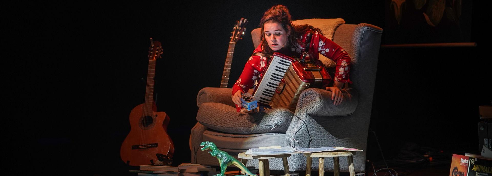 Op 23 februari 2019 was Katinka Polderman te zien in De Tamboer met haar voorstelling Polderman draagt een steentje bij.
