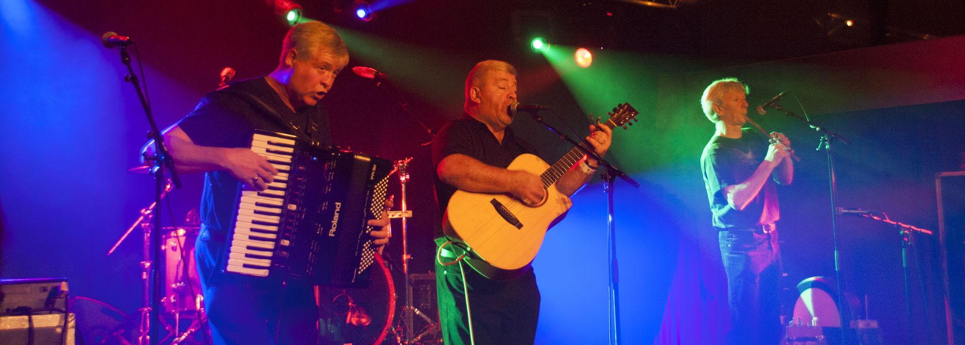 Dubh Linn speelt ieder jaar op het Irish Festival in De Tamboer.