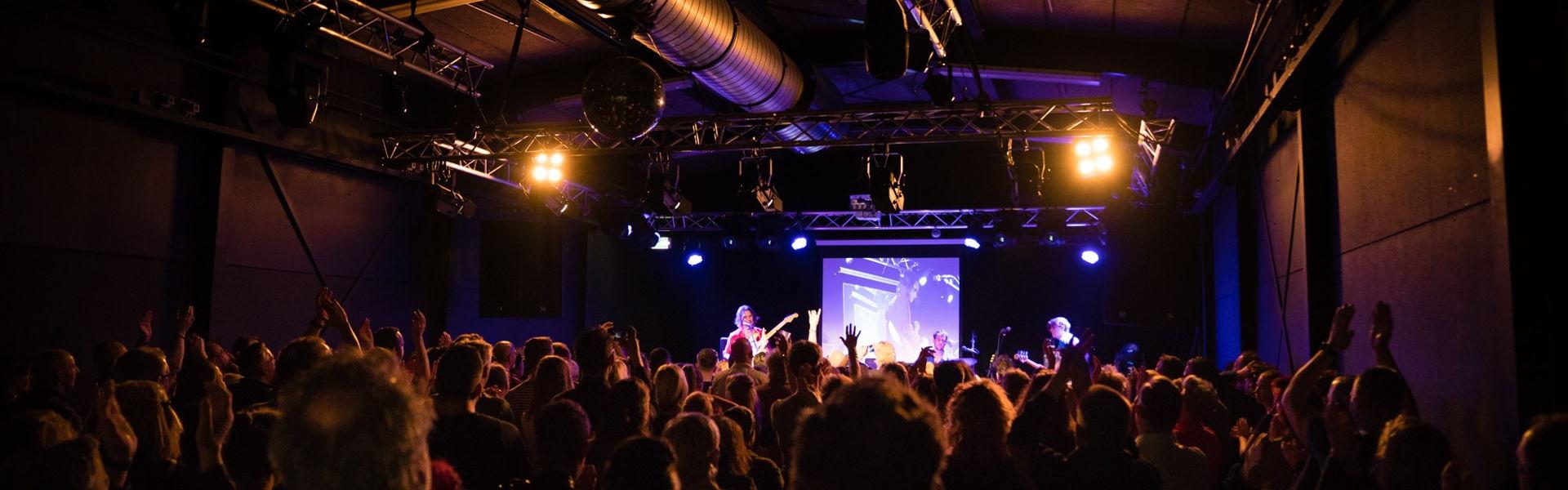 Jett Rebel in december 2019 in Het Podium.