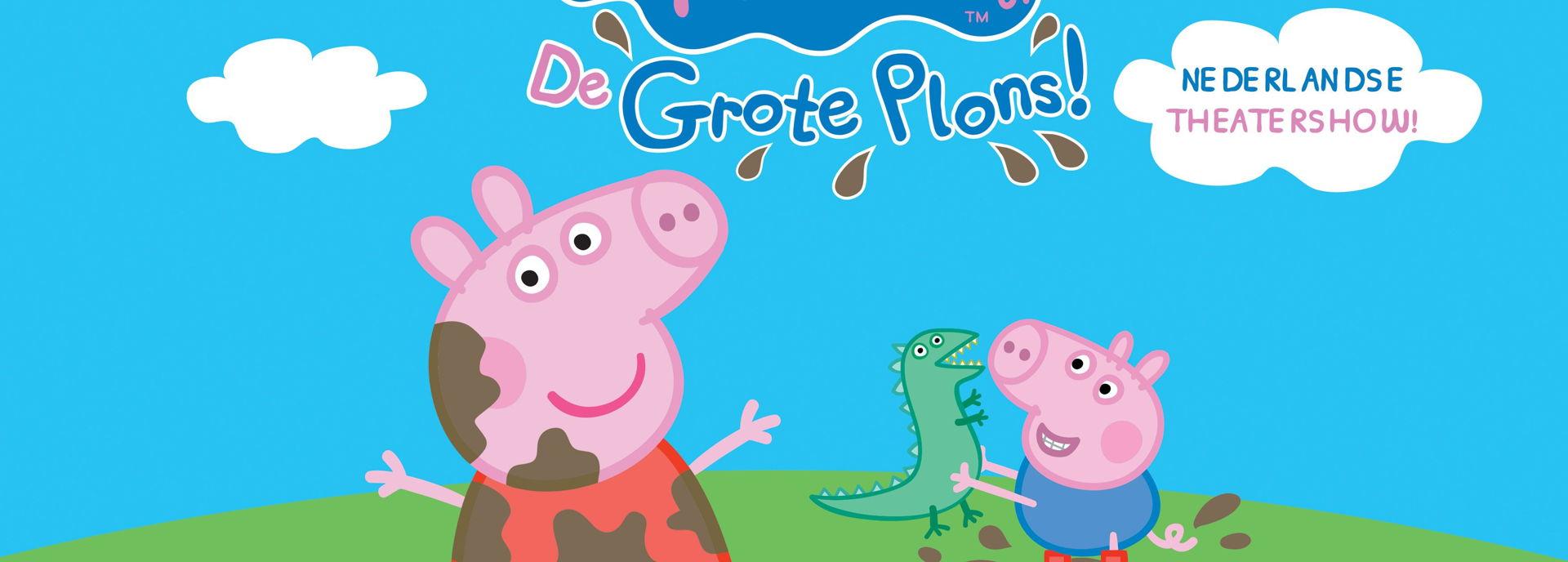 Peppa Pig stond met de Nederlandse Theatershow in De Tamboer