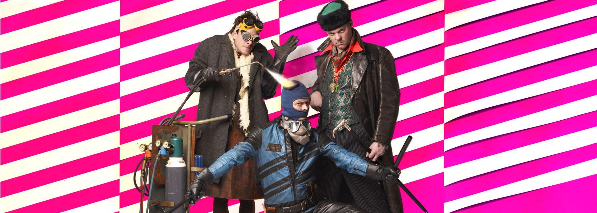 Meneer Monster is een theatergezelschap met creatieve kindervoorstellingen.