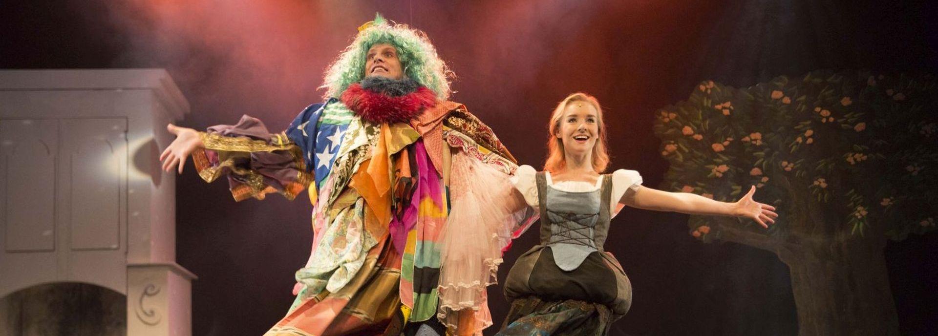 in 2017 speelde Langhout Theaterproducties de landelijke première van Assepoester in De Tamboer