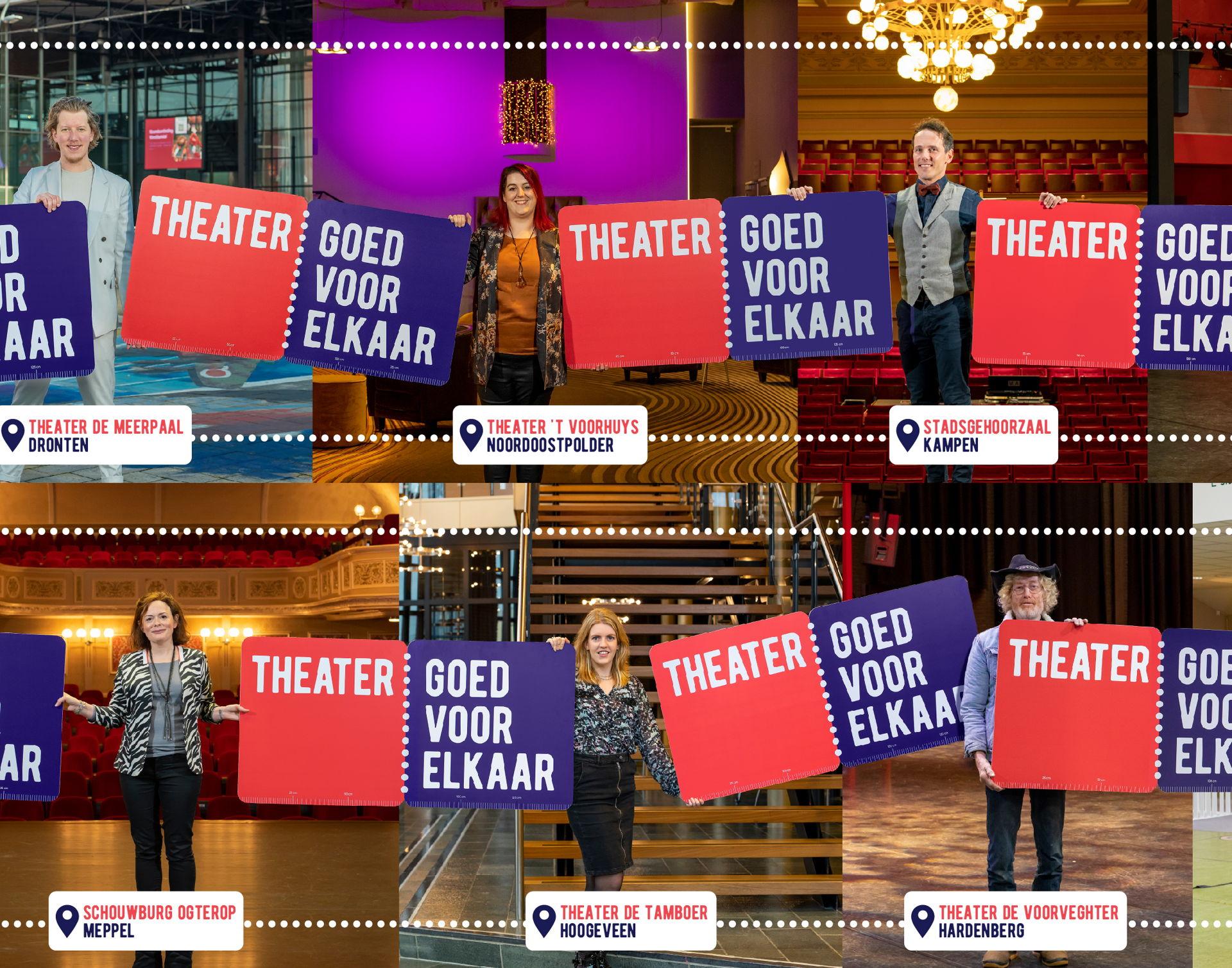 Cultuurregio Zwolle - Theater goed voor elkaar