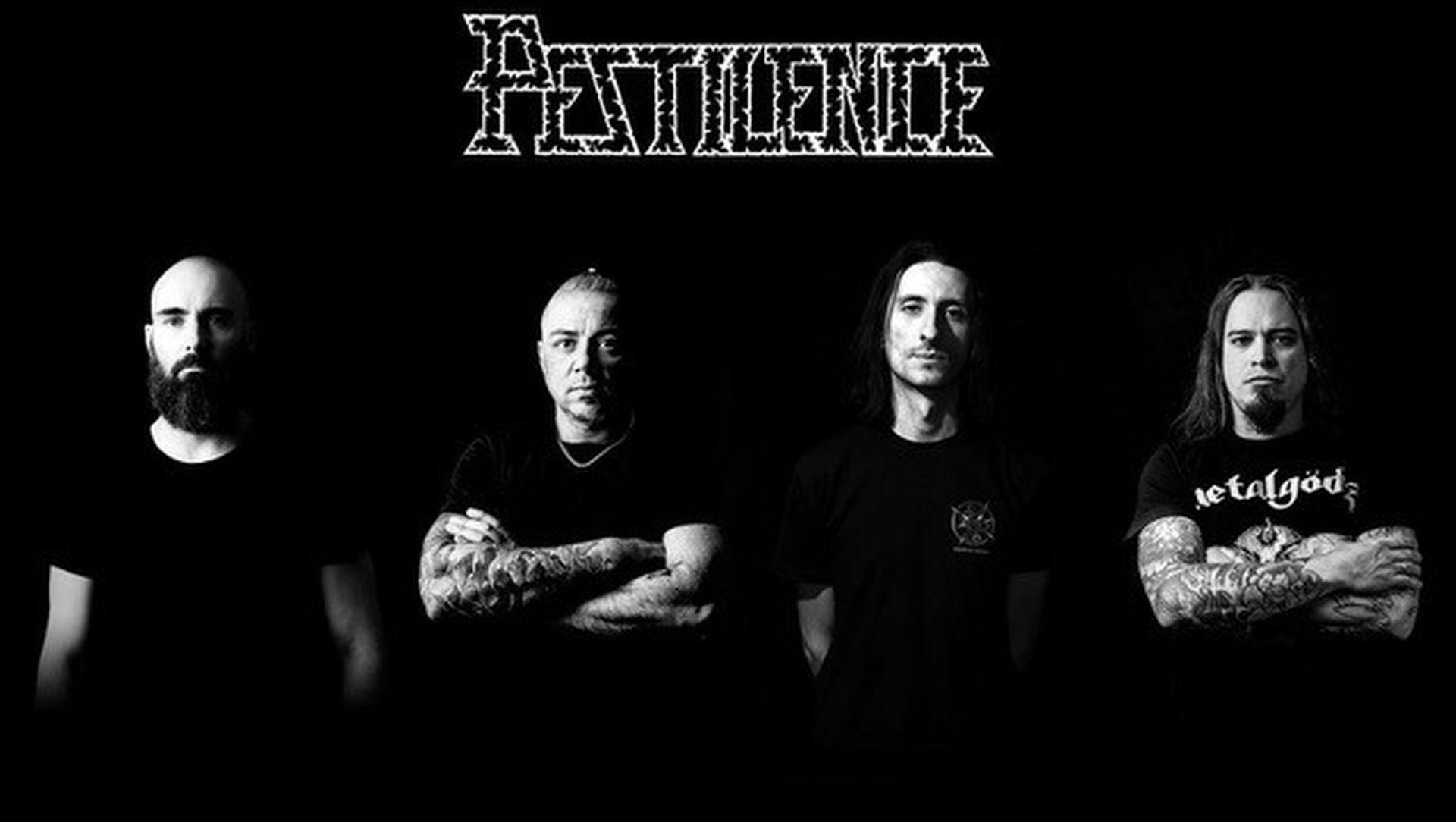 De Nederlandse death metal band Pestilence uit Enschede draait al heel wat jaren succesvol mee in de scene. Ze zijn opgericht in 1986 en na twee keer gestopt te zijn, zijn ze sinds 2016 weer helemaal alive en kicking!