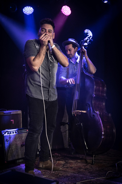 Op 5 oktober speelde The Goon Mat & Lord Benardo op de Bluesnight in Het Podium. Foto's door Photo Anya
