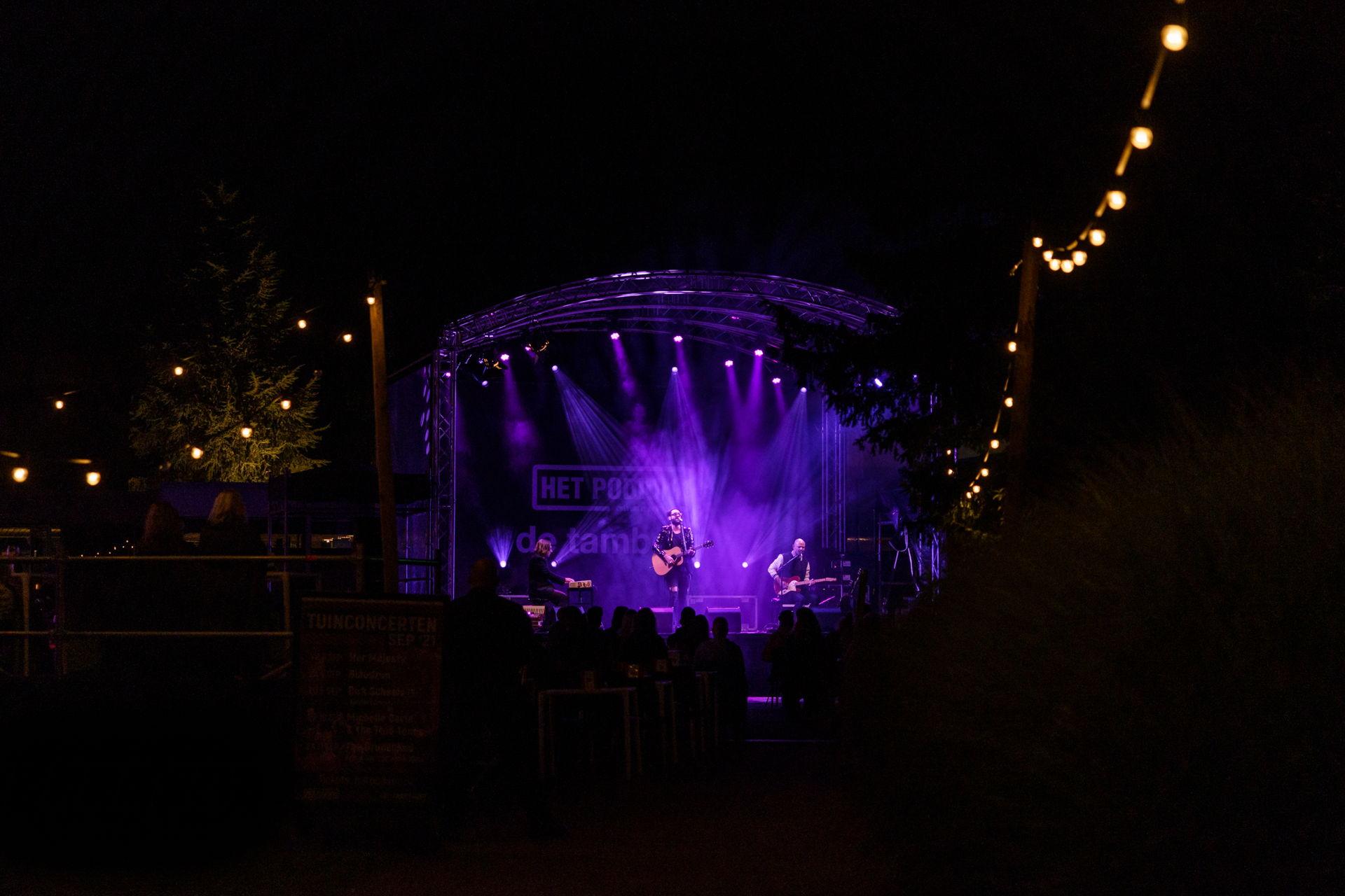 Blaudzun gaf op 4 september 2021 een tuinconcert in Hoogeveen. Foto's door Photo Anya