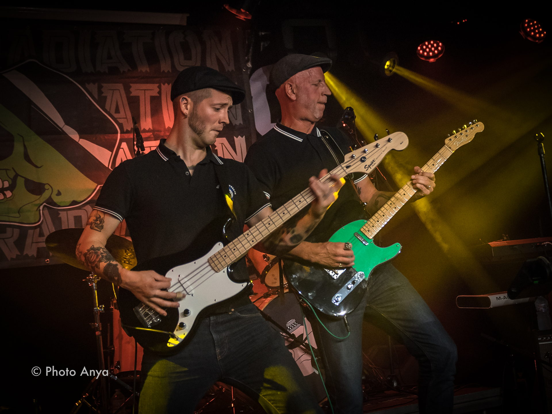 Rude Radiation op 26 oktober 2019 in het voorprogramma van Mark Foggo in Het Podium. Foto's door Photo Anya
