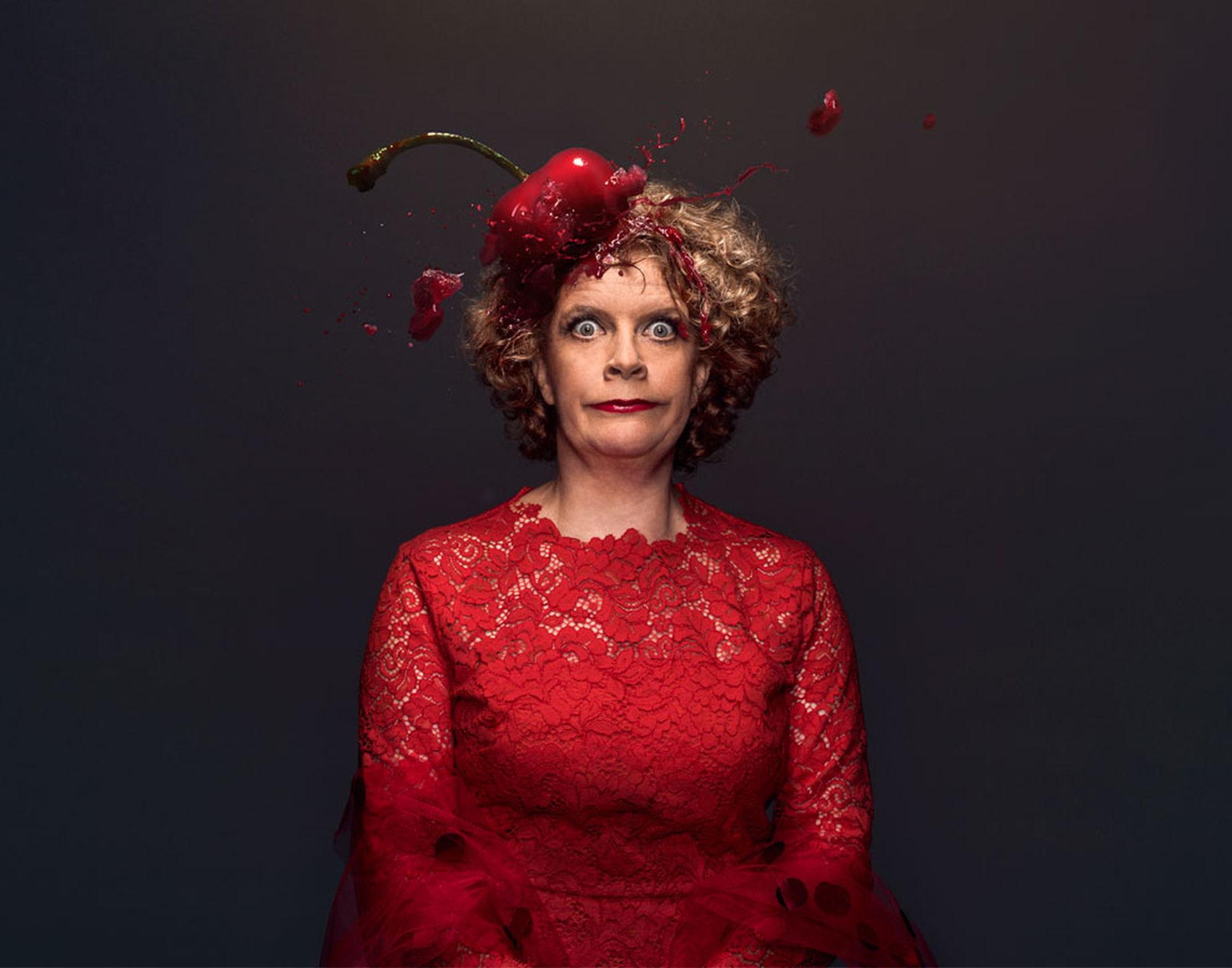 Brigitte Kaandorp speelde in 2019 haar voorstelling Eh...