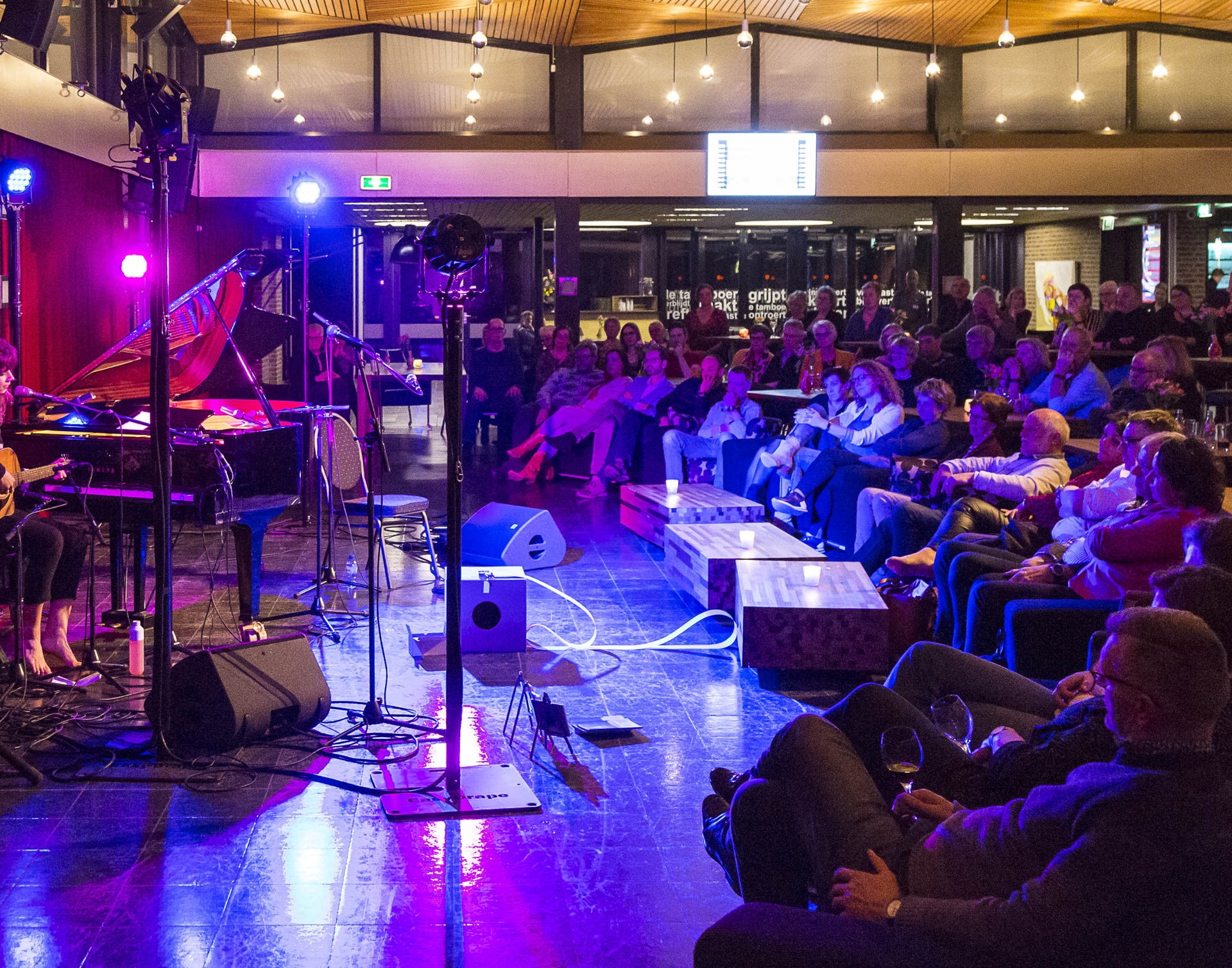 Singer-songwriter Festival in de Forumfoyer
