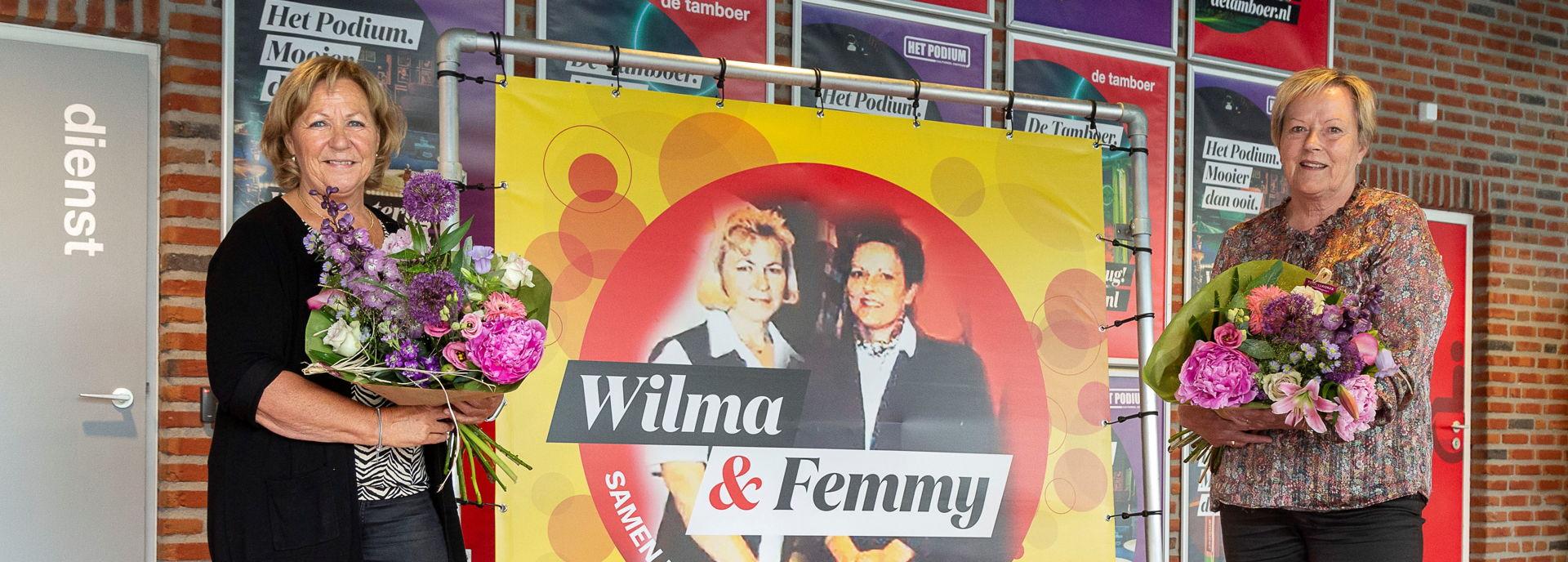Wilma en Femmy - foto door André Weima