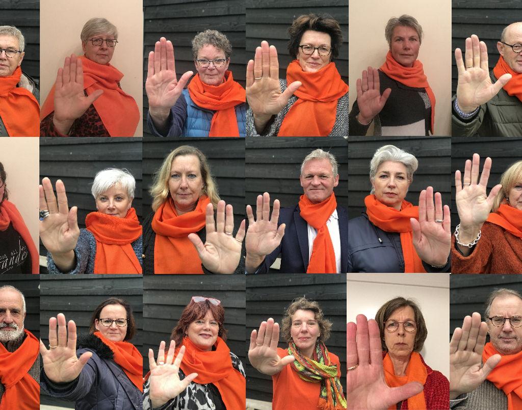 Soros Orange the world: tegen geweld tegen vrouwen
