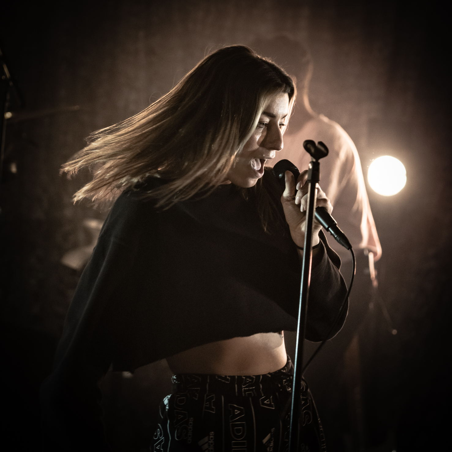 Photo Anya fotografeerde het Locked & Live concert RONDÉ in Het Podium.