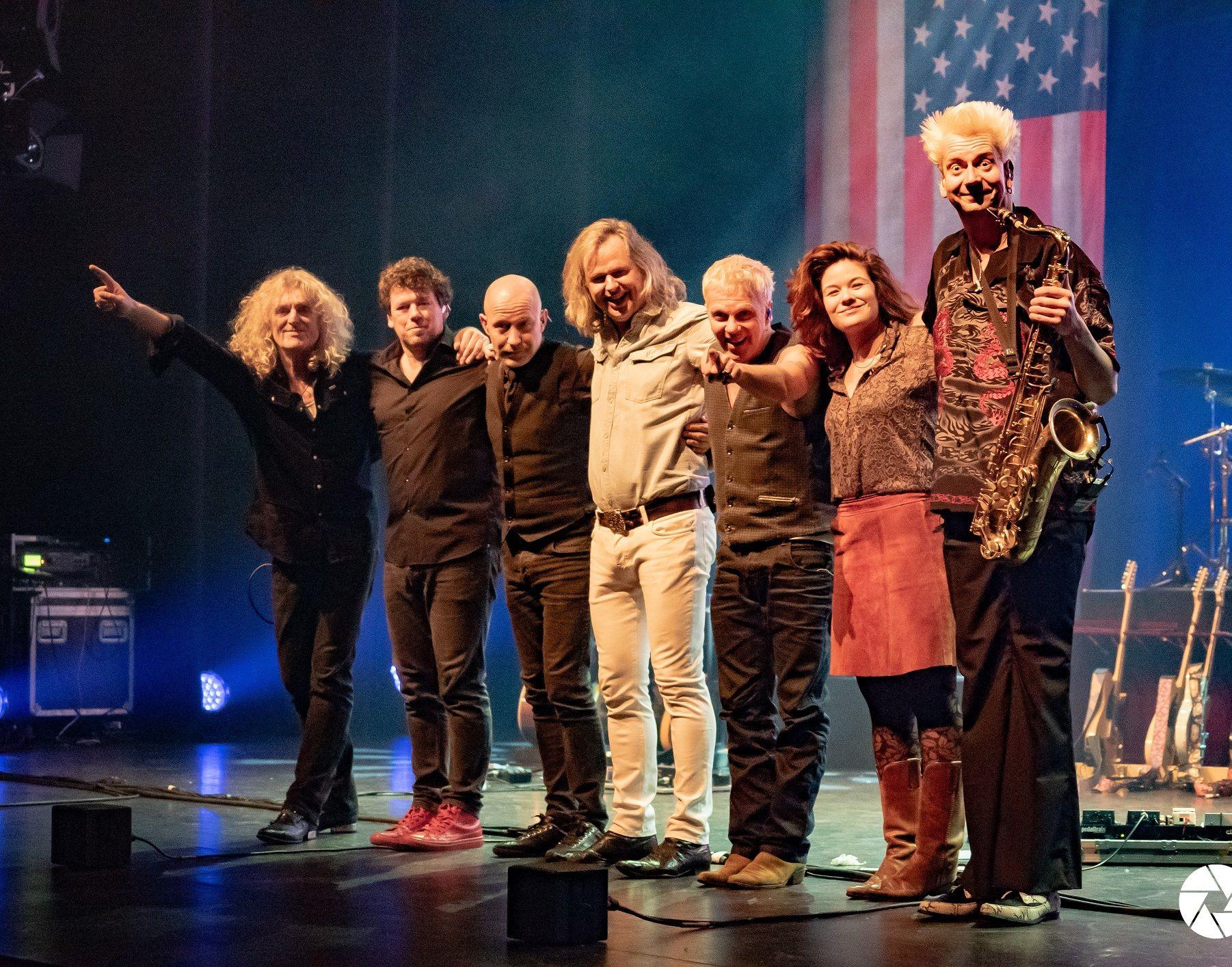 Legendary Albums Live kwam tijdens het theaterseizoen 2018 - 2019 met een twee uur durend rocktheaterspektakel!