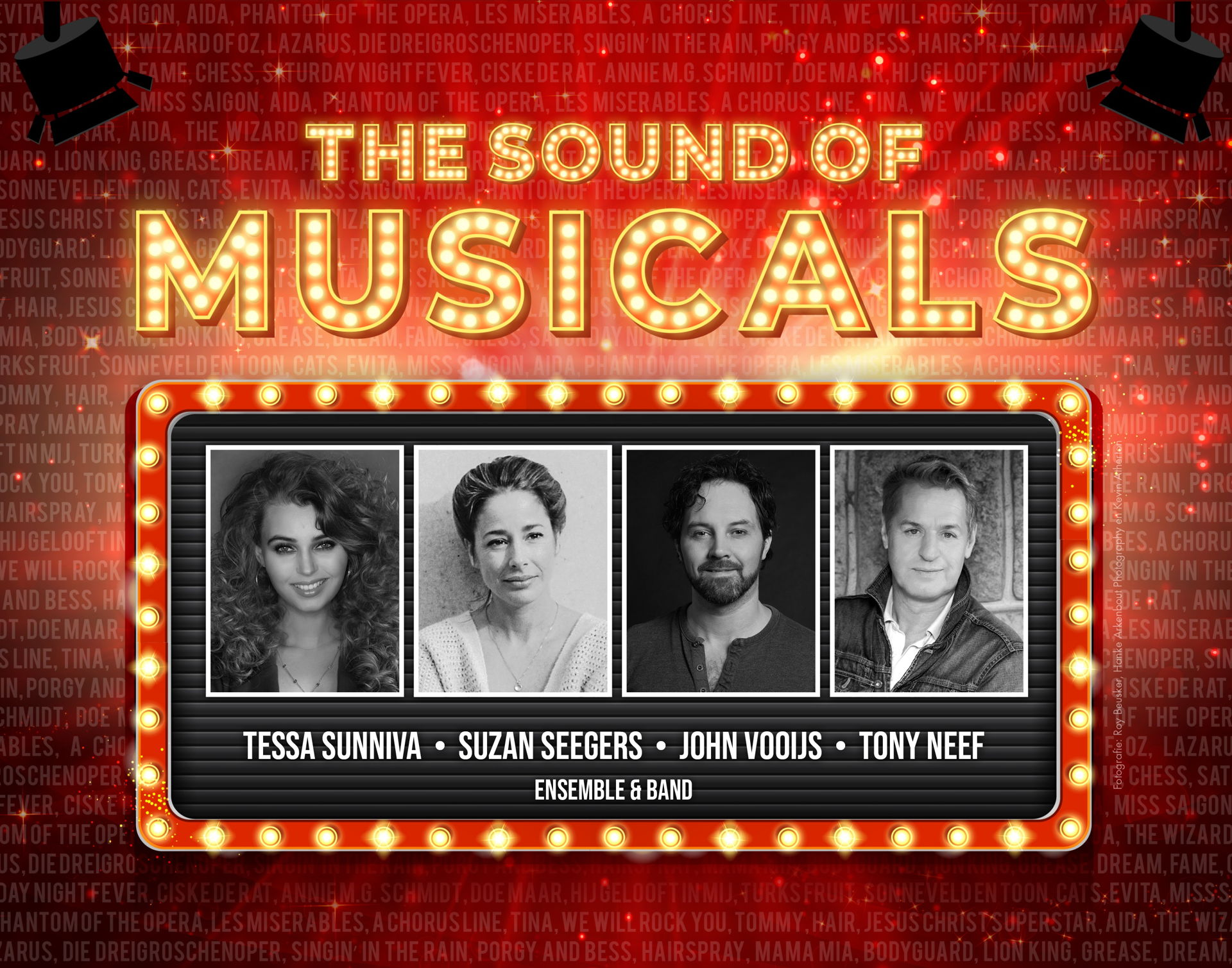 The Sound of Musicals met Tony Neef, Susan Seegers e.a.