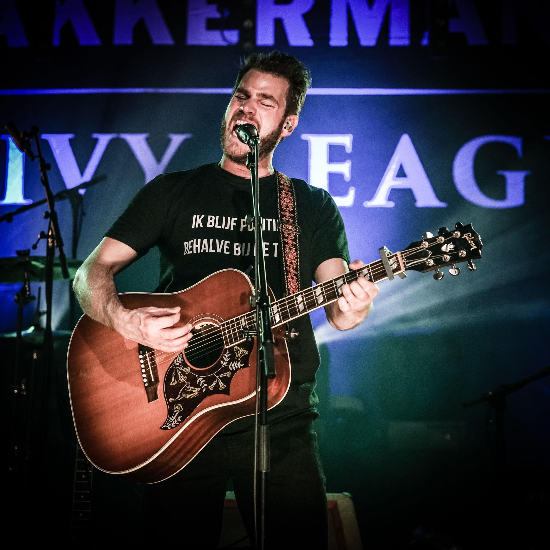 Tim Akkerman & the Ivy League tijdens Locked & Live, foto's door Photo Anya.