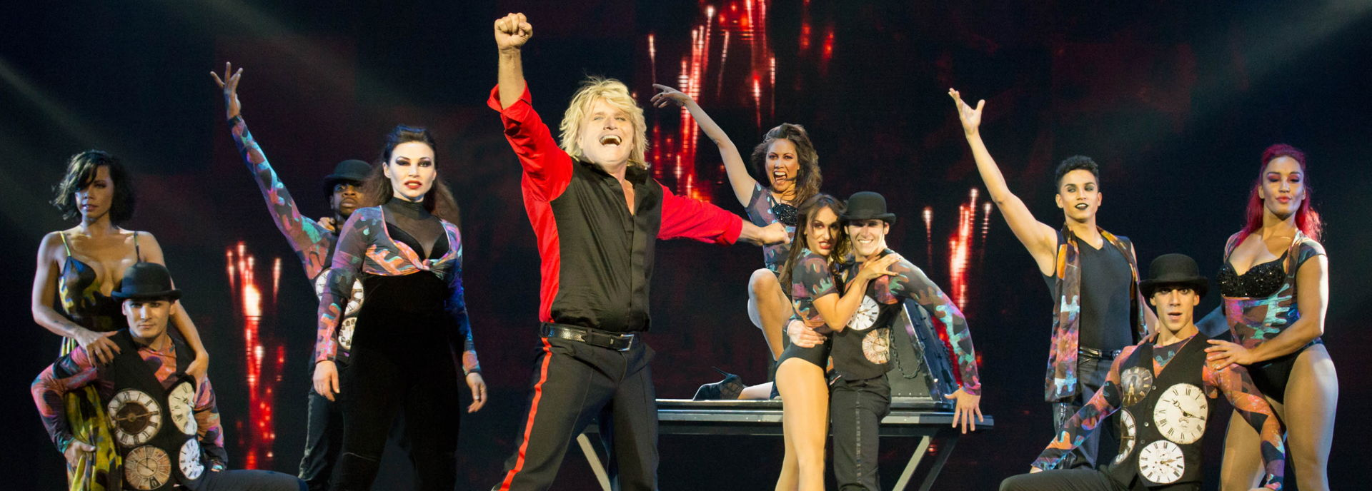 Op 14 en 15 december 2017 veranderde De Tamboer in Hans Klok's House of Horror.