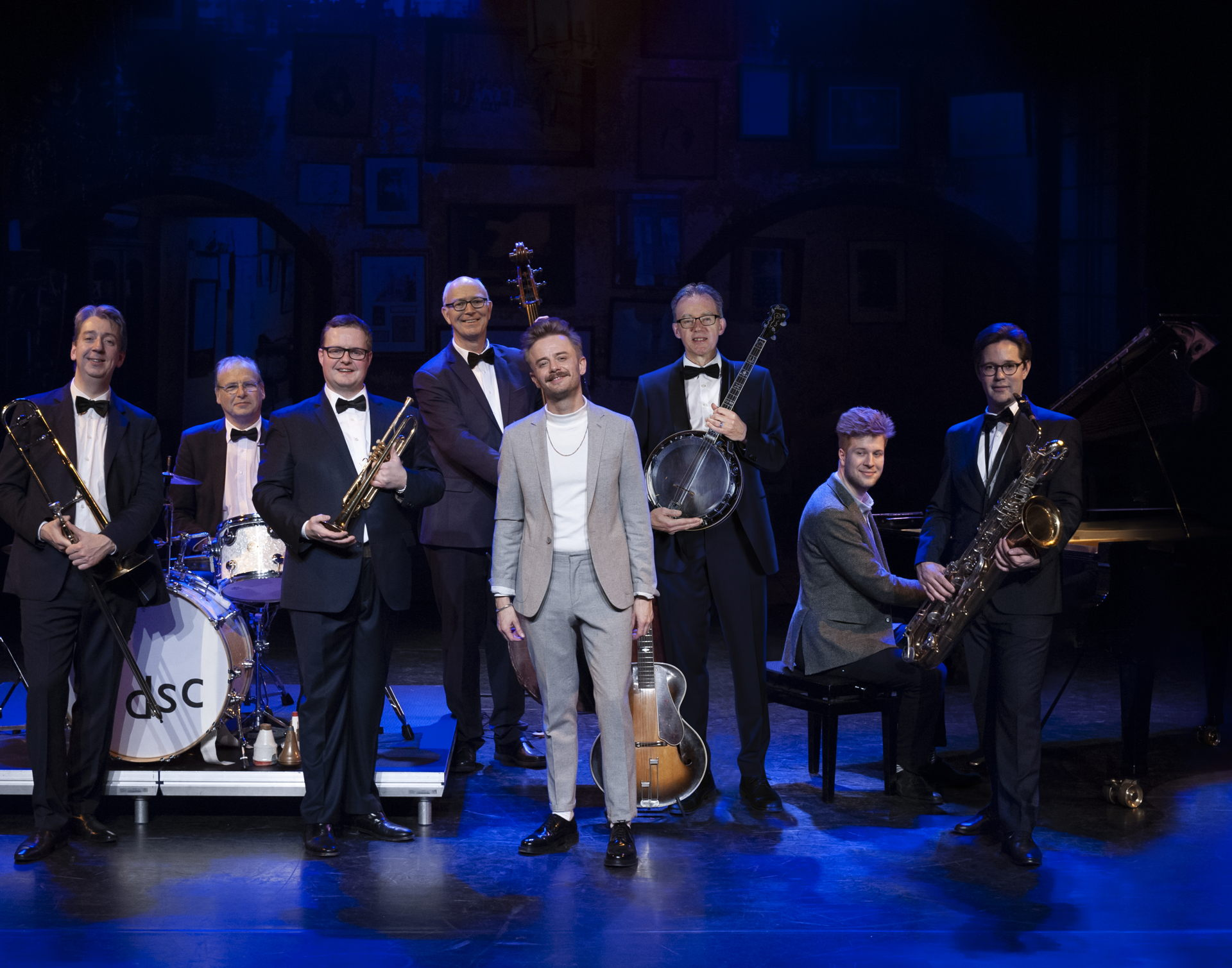 Wouter Hamel en Dutch Swing College Band