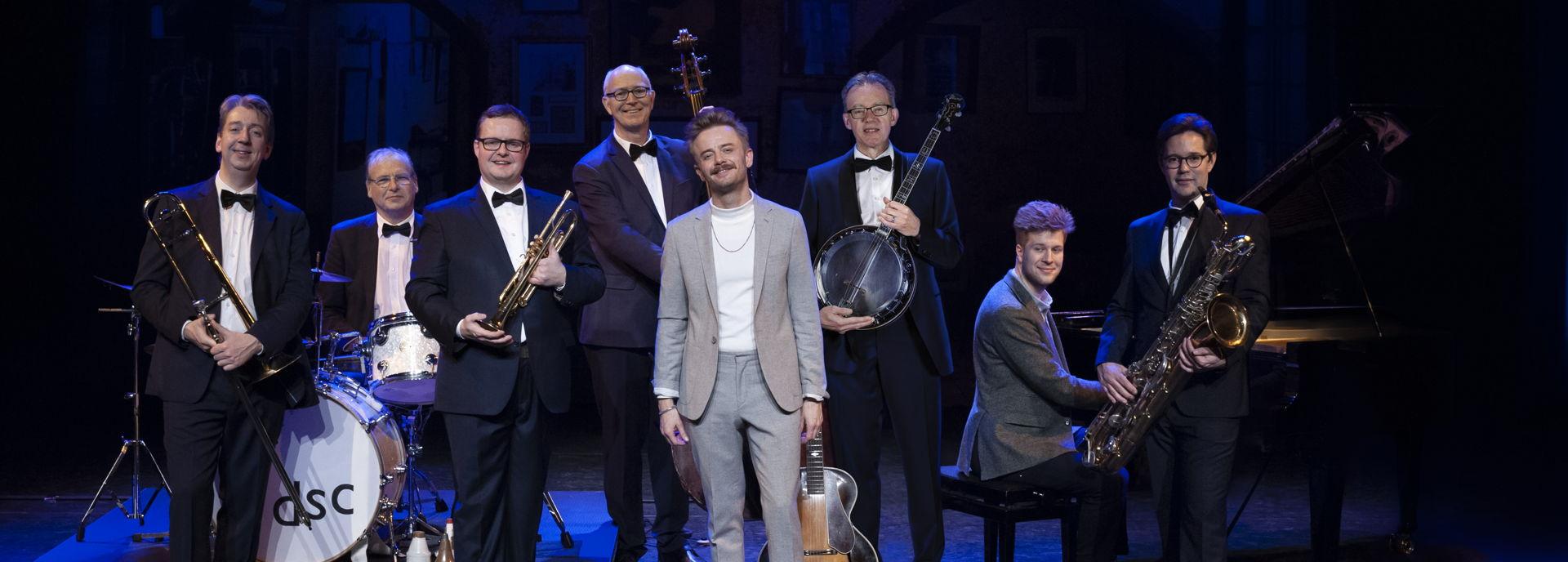 Wouter Hamel en Dutch Swing College Band