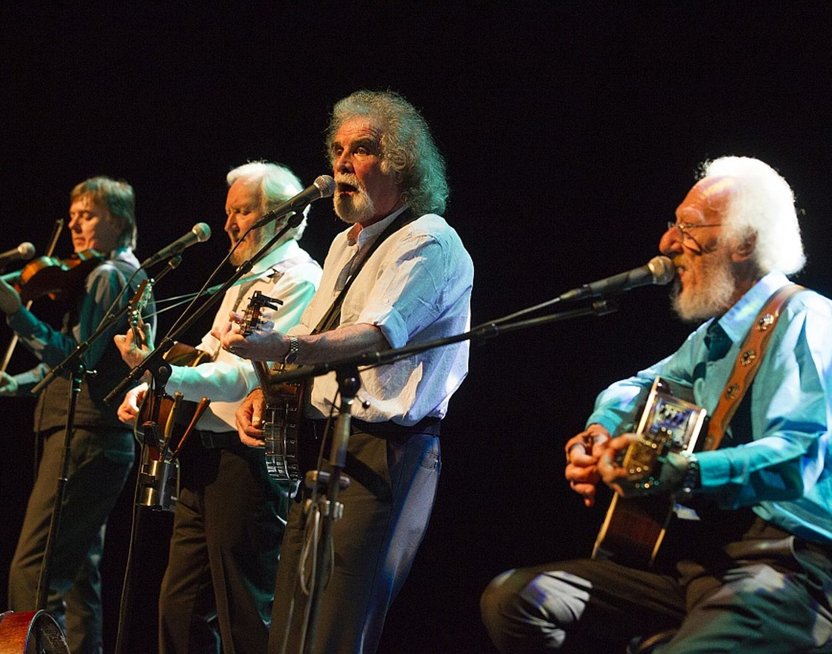 The Dublin Legends, formerly known as the Dubliners speelden op het Irish Folk Festival in De Tamboer.