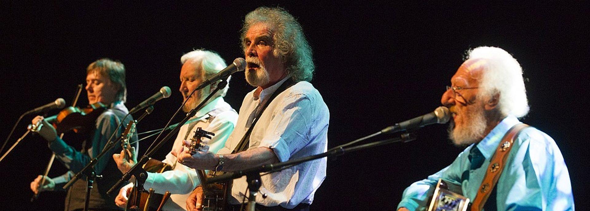 The Dublin Legends, formerly known as the Dubliners speelden op het Irish Folk Festival in De Tamboer.